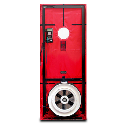 blower door test laminair certified air flow test balance. Black Bedroom Furniture Sets. Home Design Ideas
